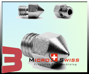 Micro Swiss Plated Wear Resistant Nozzle MK9 CTC