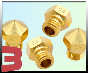 Nozzle MK10 Brass for PTFE lined