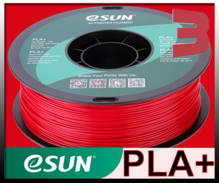 eSun Fire Engine Red PLA+